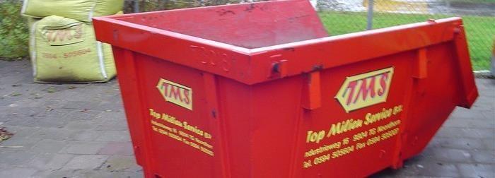 Afvalcontainer huren in groningen kan bij topcontainers